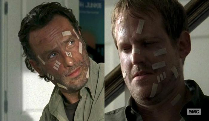twd bandages Walking Dead Season 5 Finale Recap (with spoilers!)